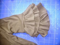 Sewing Kelsey Ruffles in a Round (or adding ruffles to store-bought leggings) by CKC