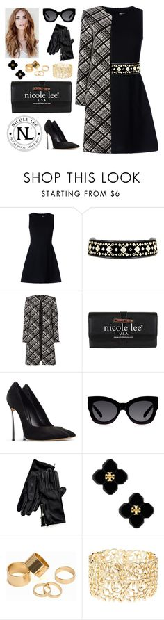 """""""Nicole Lee Olivia Wallet!"""" by nicoleleeusa ❤ liked on Polyvore featuring RED Valentino, Tory Burch, Ellen Tracy, Casadei, Karen Walker, Tommy Hilfiger, Pieces and Charlotte Russe"""