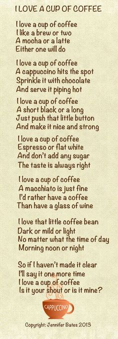 Aaah my cup O'Jo, how I love thee. Let me sip the ways.☕