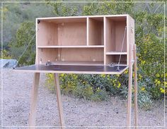 Here's another survey of chuck boxes and camp kitchens. There's lots of interesting ideas, plans and designs out there.