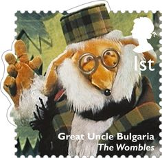 Classic Children's TV 1st Stamp (2014) Great Uncle Bulgaria - The Wombles