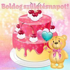 #születésnap Share Pictures, Animated Gifs, Birthday Decorations, Happy Birthday, Jar, Halloween, Desserts, Google, Anniversary Decorations