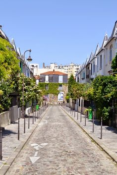 rue Dieulafoy, Paris 13e, une rue parisienne très British