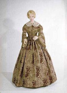 Dress c.1855-1865 American History