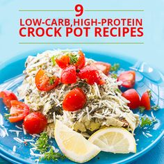 Slow Cooker Spinach Artichoke Chicken Just like the dip--only it's dinner! This quick and comforting Spinach and Artichoke Slow Cooker Chicken is absolutely delicious! High Protein Low Carb, High Protein Recipes, Low Carb Recipes, Diet Recipes, Chicken Recipes, Cooking Recipes, Healthy Recipes, Recipies, Cooking Games
