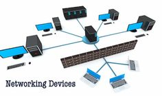 Know about different types of networking devices like hub, switch, router, repeater, bridge etc and their working functionalities.