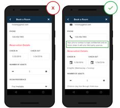Text Fields in Mobile App — UX Planet