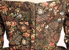 """""""Robe à l'Anglaise, Date:      1780–85  Culture:      British  Medium:      cotton"""" http://www.metmuseum.org/collections/search-the-collections/80005213?rpp=20=1=on=*=United+Kingdom=Robes=2"""