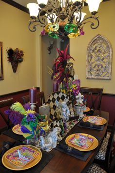 """Home and apparel trends for the frugal, but """"haute"""" mama fashionistas.: Mardi Gras Decor"""