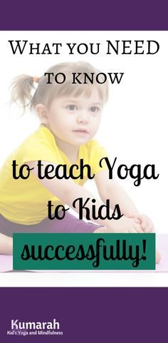 Tips and Tricks You Need to Know For Teaching Yoga to Kids | Classroom tips, studio classes for kids, or yoga at home, these tips will have you ready to teach to kiddos of any age! | Teaching Yoga to kids is fun, and lesson plans can be hard, but with these tips, you will have lots of ideas ready to go.