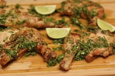 Grilled Chicken with Board Sauce -a sauce made out of a few ...