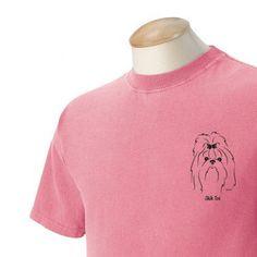 Irish Terrier Garment Dyed Cotton T-shirt YFRxC5