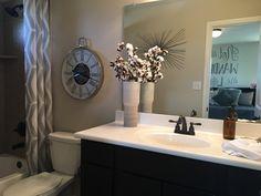 Boys bathroom Decor, Boys Bathroom, Bathroom Mirror, Saratoga Homes, Home Decor, Mirror, Bathroom