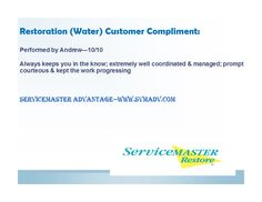 24 Best ServiceMaster Advantage Water Damage images in 2018