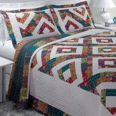 Se você gosta de casa arrumada nada melhor que começar pelo quarto. Confira Catran a colcha Reva http://goo.gl/vNNLmR