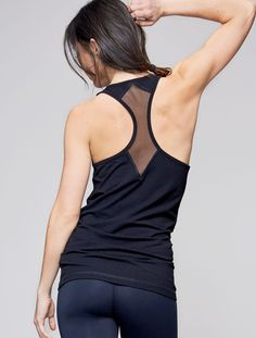 Luxury Womens Activewear | Pima Cotton Modal Tank Top | Style meets Sport – Alala