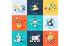 Business concepts. - Illustrations - 1