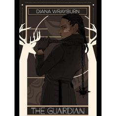 The beautiful Diana Wrayburn, latest installment in @aegisdea 's series of portraits of the Dark Artifices characters. You can see the deer that are the symbol of the Wrayburn family. TWELVE DAYS TO LORD OF SHADOWS! #loscountdown