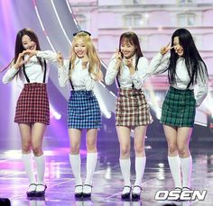 Fandom, Olivia Hye, Sooyoung, Little Sisters, Girl Group, Skater Skirt, Champion, Korea, Cute Outfits