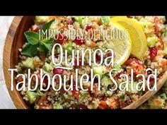 Yum & Yummer | Quinoa Tabbouleh Salad