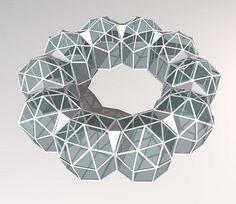 Modular geodesic dome design                                                                                                                                                                                 More