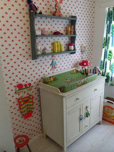babykamer/nursery via retroloekie.nl