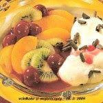 Hospodyně: Jogurtový krém s míchaným ovocem
