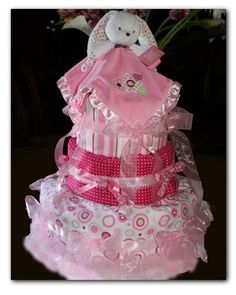 The Tiddliwink Designs Blog: How to Make a Diaper Cake