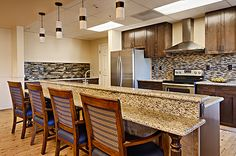 Paintbrush Assisted Living- kitchen