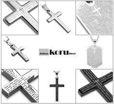 Lords Prayer ja muut rippiristi uutuudet www.korulipas.fi Rippiristi, rippiristi pojalle, rippiristi tytölle, teräsristi, rippiristi netistä