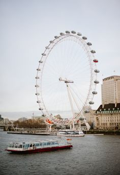 London Eye in London England | photography by hazelnutphotography.com