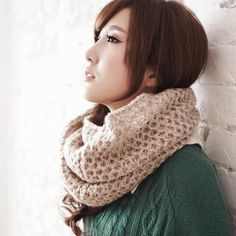 Buy 'BAIMOMO – Knit Circle Scarf' with Free International Shipping at YesStyle.com. Browse and shop for thousands of Asian fashion items from Taiwan and more!