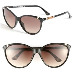 I want these! MICHAEL Michael Kors 'Camila' 60mm Sunglasses (100 CAD) found on Polyvore