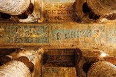 View top-quality stock photos of Dendera Temple In Egypt. Find premium, high-resolution stock photography at Getty Images. Shield Drawing, Ancient Egypt Pyramids, Ancient Egyptian Architecture, Ancient Buildings, Roman Columns, Architectural Columns, Small Puppies, Ancient Symbols, Stock Pictures