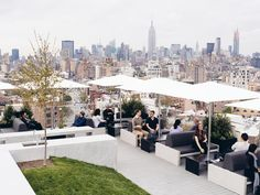 But the best part of the office is its roof deck. A colleague who visited says it's among the best tech office roof spaces in New York.