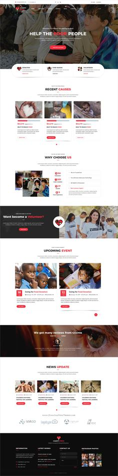 Deeds2 - An HTML Template for Church Websites and NonProfit - donations template