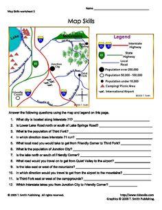 Landform Regions Worksheets Map skills and Social studies