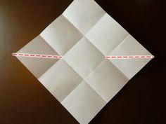 origami envelope fold in half diagonally