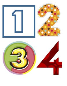 Four Corners Numbers