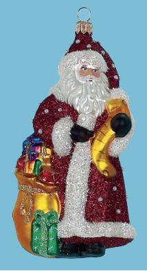 'Santa w/Pearl Coat'