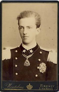 Victor Emmanuel III (1869 – 1947) was a member of the House of Savoy & King of Italy (1900 – 1946). In addition, he claimed the thrones of Ethiopia & Albania as Emperor of Ethiopia (1936–41) & King of the Albanians (1939–43), which were unrecognised by the Great Powers. During his long reign (46 years), which began after the assassination of his father Umberto I, the Kingdom of Italy became involved in two World Wars. His reign also encompassed the birth, rise, and fall of Italian Fascism.