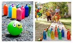 Simples e práticas, a Party Time pesquisou e selecionou20 brincadeiras super divertidas que podem ser confeccionadas em casa sem grandes c...