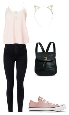 """""""Untitled #14"""" by kj-howe on Polyvore featuring J Brand, Zadig & Voltaire, Converse and Charlotte Russe"""
