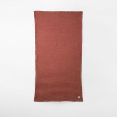 Organic Bath Towel In Rust By Ferm LIVING   FAST DELIVERY