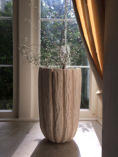 Bodenvase Silke-Freitag.de Keramik Design, Planter Pots, Home Decor, Decoration Home, Room Decor, Home Interior Design, Home Decoration, Interior Design