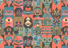 Nobrow 5 Spread | Illustrator: Ben Newman - http://www.bennewman.co.uk