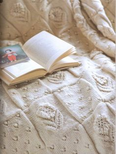 Flower Squares Bedcover