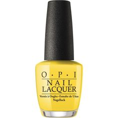 OPI Fiji collection nail lacquer Exotic birds do not tweet 15ml ($16) ❤ liked on Polyvore featuring beauty products, nail care, nail polish, opi, opi nail color, opi nail care and opi nail lacquer