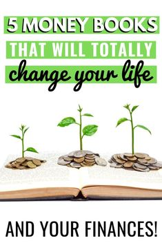5 money books have changed my life! These personal finance books are awesome for beginners looking to learn how to save money get out of debt Money Tips, Money Saving Tips, Finance Books, Finance Tips, Books Everyone Should Read, Money Makeover, Money Book, Get Out Of Debt, Managing Your Money