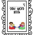 Take-Home Sight Word Book (Katy ISD Kindergarten) I created this book to send home with my kiddos to practice our sight words. The words are from the list of Katy ISD's 100 High Frequency words and are separated into our 4 grading periods. I've included the word lists for each grading period, as well as a documentation form for parents to keep track of their child's progress. I've also included practice sentences for each high-frequency word and a parent letter to accompany the book.